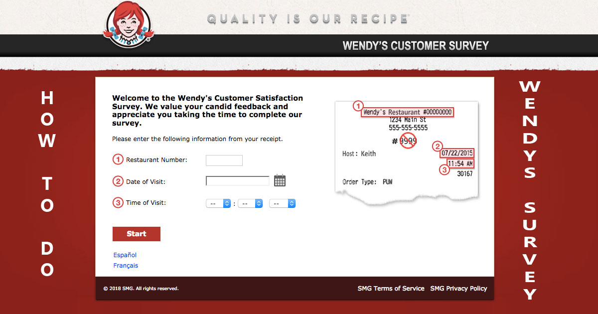 How to do Wendys survey Image